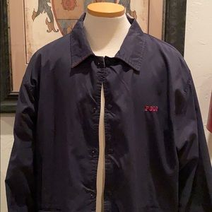 Polo Ralph Lauren lined snap canvas jacket